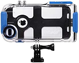 ProShot Touch - Waterproof Case Compatible with iPhone 8 Plus, 7 Plus, and 6 Plus, and Compatible with All GoPro Mounts