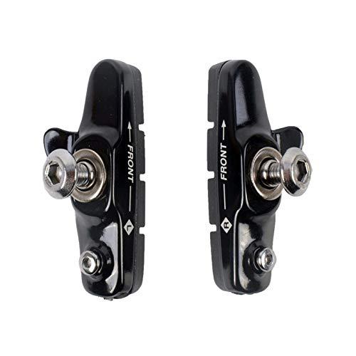 Pastillas de freno de bicicleta 1 par Pastillas de freno de bicicleta C: zapatas de freno C para engranajes fijos MTB Freno de bicicleta CNC Bloque de caucho aleación de aluminio resistente al desgast