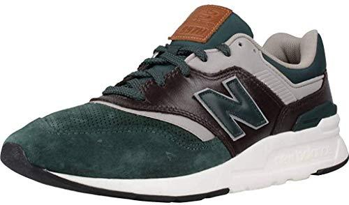 Calzado Deportivo para Hombre, Color Verde, Marca NEW BALANCE, Modelo Calzado Deportivo para Hombre NEW BALANCE CM997 HXA Verde