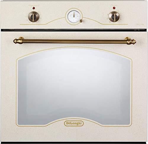 De Longhi CM 9 AV ED - Forno Elettrico Multifunzione Ventilato con Grill, da 59 Litri, Classe energetica A, Dimensioni 60 cm, colore Avena