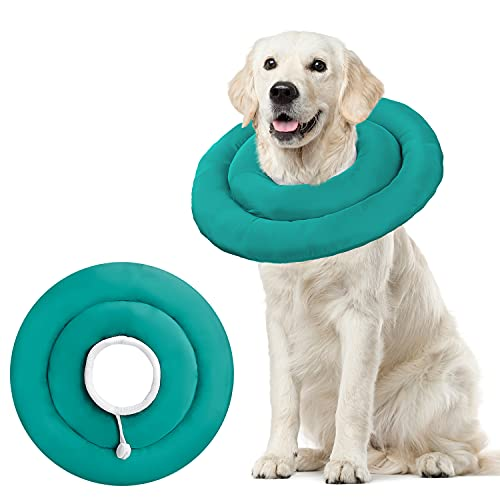 BABYLTRLL Dog Cone Collar for After Surgery, Soft Pet Recovery Collar for Dogs & Cats, Adjustable Water-Proof Cone Collar Protective Dog Cones for...