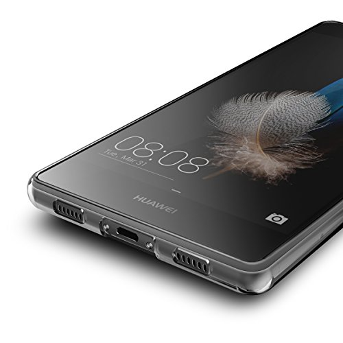 AICEK Huawei P8 Lite Hülle Case, Ultra-Clear P8 Lite Case Silikon Soft TPU Crystal Clear Premium Durchsichtig Handyhülle Schutzhülle Case Backcover Bumper Slimcase für P8 Lite - 5