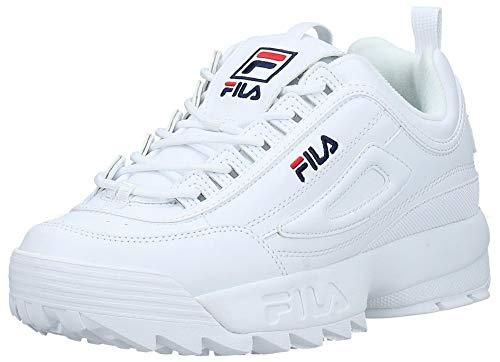 FILA Disruptor, Zapatillas para Hombre, White, 44 EU