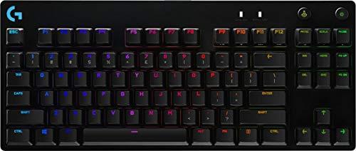Logitech G Pro X Tactile Gaming Keyboard, GX-Brown (DEU Layout - QWERTZ)