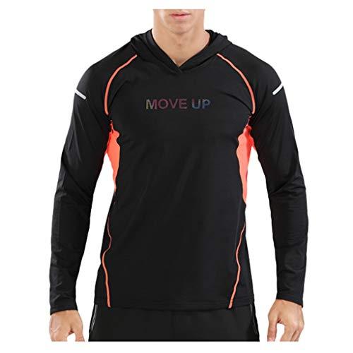 Chaqueta informal con capucha para hombre, camisa de manga larga de entrenamiento,...