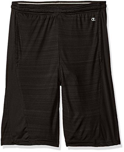 Champion NCAA Arkansas Razorbacks Men's Against The Grain Training Shorts, X-Large, True Black