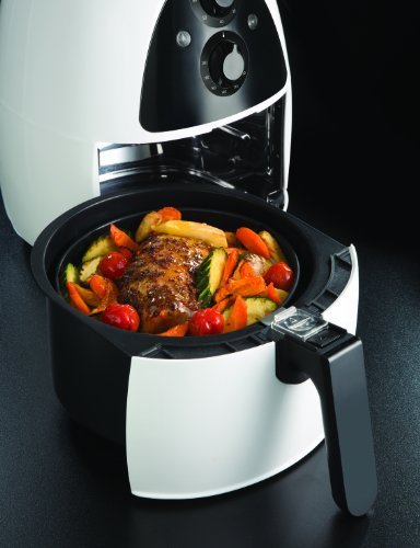 Russell Hobbs Purify Health Fryer with Timer, 2 L - White