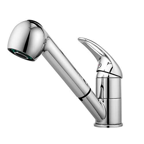 Küchenarmatur ausziehbar Wasserhahn Bad...