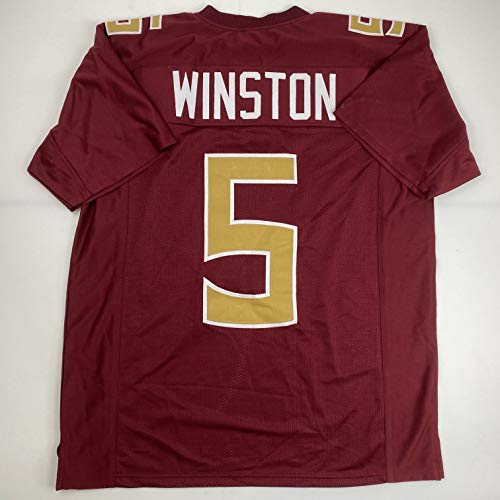 Unsigned Jameis Winston Florida State Maroon Custom Stitched College Football Jersey Size Men's XL New No Brands/Logos