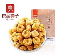 中国名物 おつまみ 大人気 Daben® 良品铺子 烘烤玉米花 爆米花黄金豆 100g