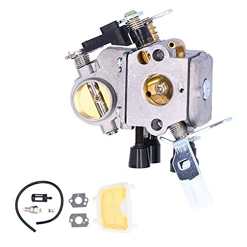 WAQU Kit de carburador-Kit de Filtro de Aire de Junta de carburador Apto para Motosierra Stihl MS171 MS181 MS181C MS211
