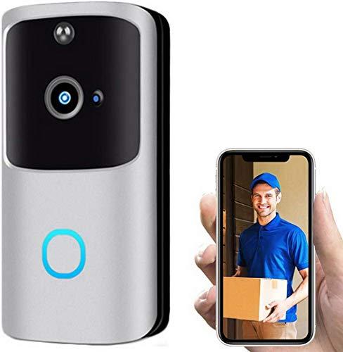 ROCONAT Intelligente elektronische drahtlose WiFi-Video-Türklingeln Sichern Sie visuelle Türklingeln für die Gegensprechanlage Türklingeln & Türglocken