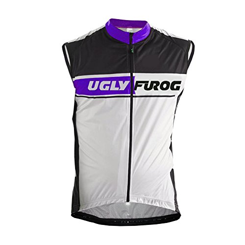Uglyfrog #22 Ciclismo Chalecos Hombres Winter with Fleece Cycling Vest de Bicicleta Conjunto de Ropa de Ciclo Chalecos de Manga Corta