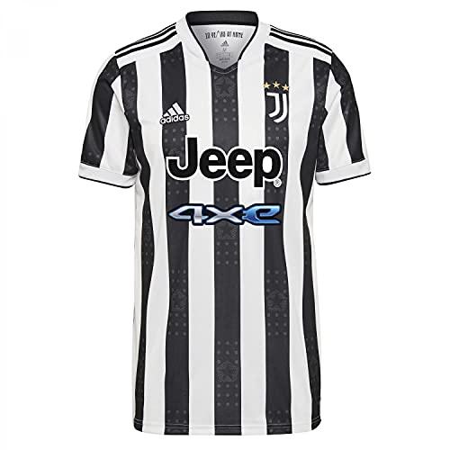 Adidas - Juventus Temporada 2021/22, Camiseta, Primera Equipación, Equipación de Juego, Hombre