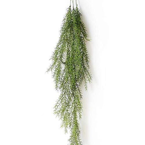 Sue-Supply Kunstgras Varens Planten Nep Ivy Hanging Bloemen Wijnstok Naald voor Thuis Bruiloft Decoratie