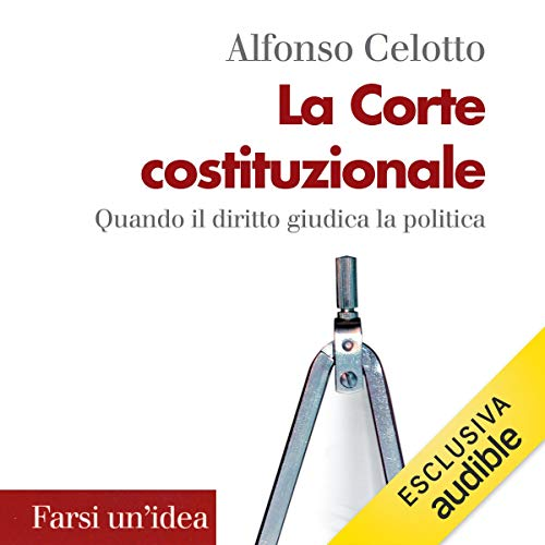 La Corte costituzionale copertina