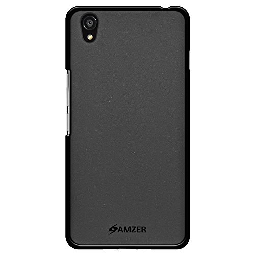 Amzer Pudding Soft Gel TPU Skin Fit Case for OnePlus X - Retail Packaging - Black