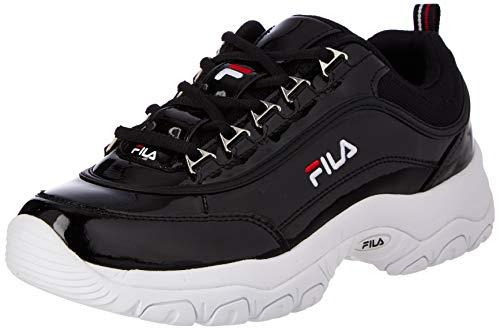 FILA Strada F wmn zapatilla Mujer, negro (Black), 37 EU