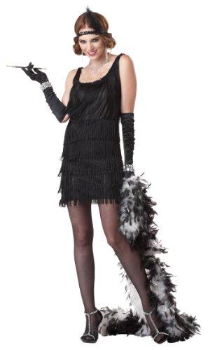 California Costumes Damen Adult-Sized Costume Kostüm für Erwachsene, schwarz, Small