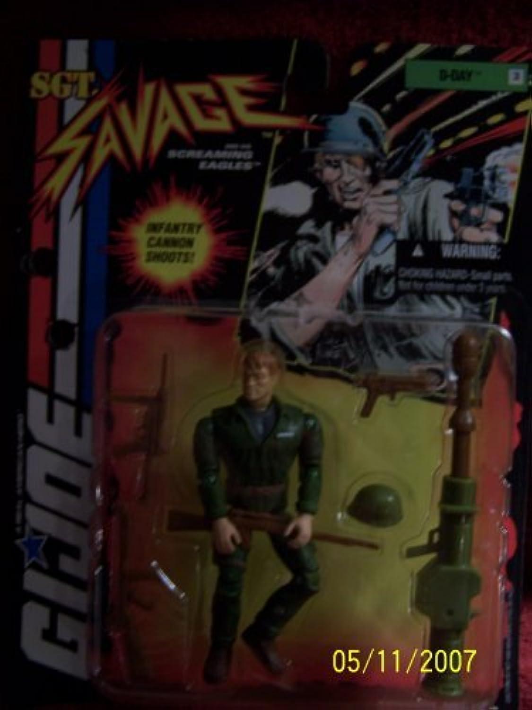 GI Joe Sgt. Savage 3.75 inch DDay 3 Action Figure