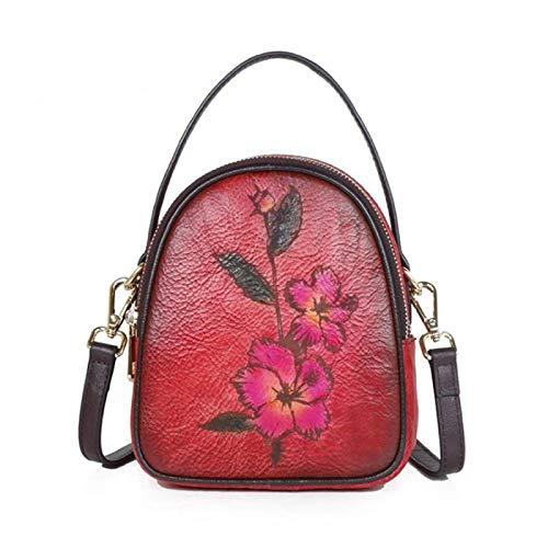 DSFDSG Women's Ladies Genuine Soft Leather Tote Bag Fashion Classic Lightweight Shopping Wallet Tote Bag Messenger Shoulder Bag