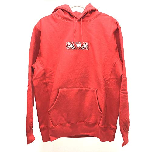 (シュプリーム) Supreme Bandana Box Logo Hooded Sweatshirt バンダナ BOXロゴ トップス パーカー コットン メンズ 同様 中古