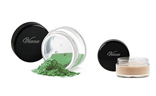 Veana Mineral Line Lidschatten plus Eye Primer emerald, 1er Pack (1 x 10 g)