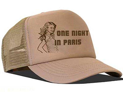 Bastart mesh cap one night in paris/brown