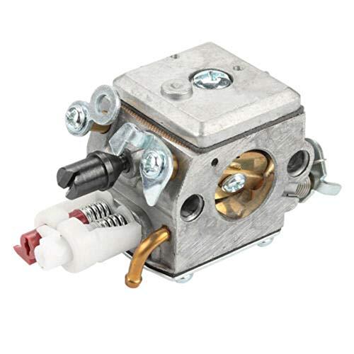 YUANDAKEJI Compatible para Husqvarna 340 345 346 350 353 Alturas Lineación Kit de carburador Kit Motosierra Parte de reemplazo