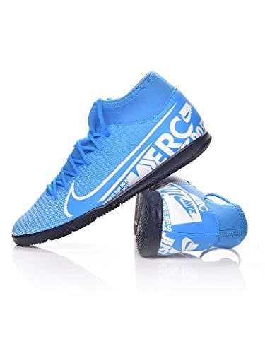 Nike Fußballschuhe Herrenschuhe Hallenschuhe Mercurial Superfly 7 Rot AT7979, Farbe Nike:Rot, Größe Schuhe Erwachsene:40