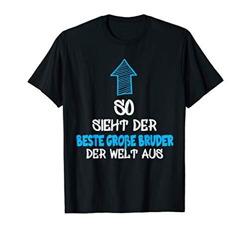 Bester große Bruder der Welt T-Shirt Geschenk große Bruder