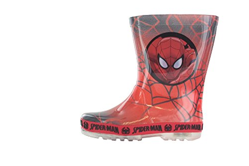 Spiderman Wilson Red Wellies Size 11