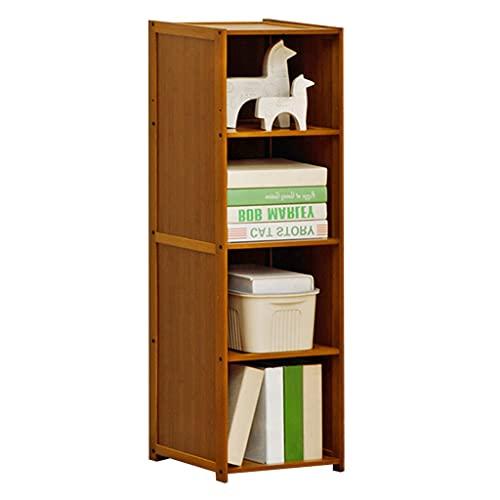 Verticale boekenplank Kinderkamer 4-laags opbergrek met grote capaciteit Een opbergrek dat ornamenten kan opbergen