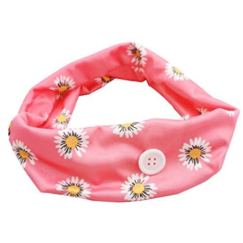 SWEEPID banda de pelo botón diadema titular de la diadema de proteger sus orejas diadema accesorios de pelo máscara de uso artefacto