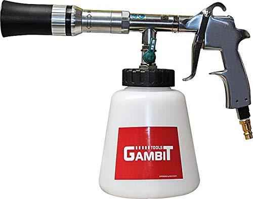 Gambit Tools Saugbecherpistole Reinigungspistole Twister-Gun reinigt mit verwirbeltem Druckluft-Reiniger-Gemisch/für empfindliche Oberflächen geeignet/sparsam durch genaue Dosierbarkeit