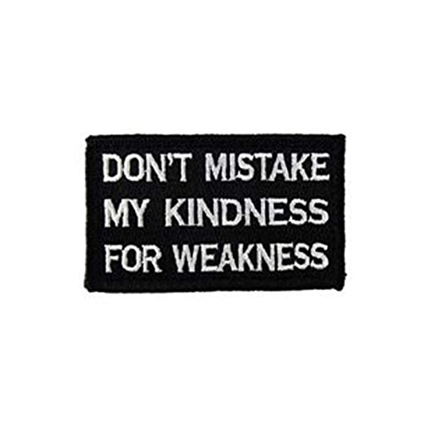 Morton Home Don't Mistake My Kindness for Weakness Tactical Military Morale Patch - 3.15