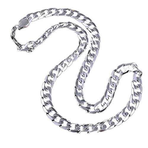 Männer Eisen Halskette Lange Clavicleweinlesehalskette Königskette Geometrische Kette Plating Schmuck Für Männer