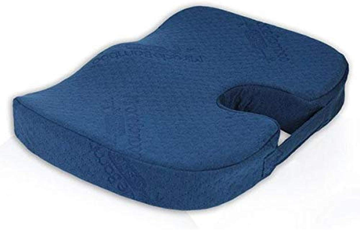 As Seen On TV Miracle Bamboo Cushion Comes In Packing Navy Blue 1