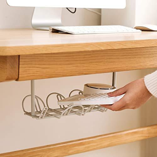 Socket Storage Rack Plug Wire Organizer Holder Table Bottom