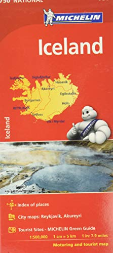 Iceland. 1:500.000: Map