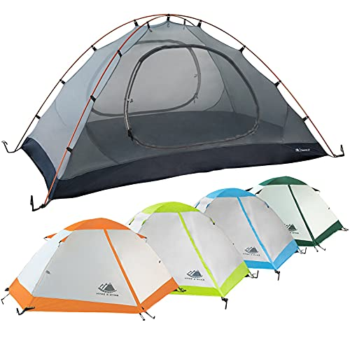 2 Person Backpacking Tent with Footprint