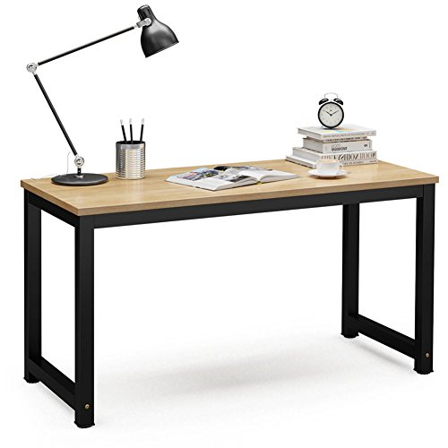 Tribesigns Computer Desk, 55 inch Large Office Desk Computer Table Study Writing Desk...