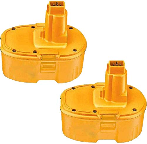 4000mAh Replacement for Dewalt 18V Battery XRP DC9096 DC9099 DC9098 DW9099 DW9098 388683-12 651034-01 DE9039 DE9095 DE9096 DE9098 DW9096 DW9095 Batteries 2 Packs
