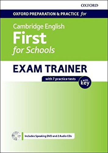 Cambridge English First for School Student's Book with Key Pack: Preparing students for the Cambridge English: First for Schools exam