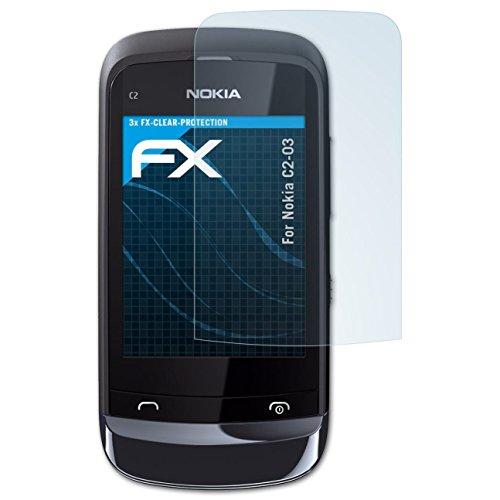 Displayschutz@FoliX - Pellicola Protettiva per Display per Nokia C2-03