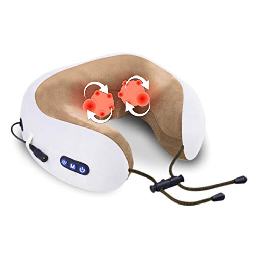 Masajeador Cervical, USE ser almohada inalámbrica de Masaje Electrico, Masajeador de Cuello...