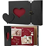 Firbon Album Fotografico, book fotografico, Scrapbook Amazing Memories Album libro(Nero)