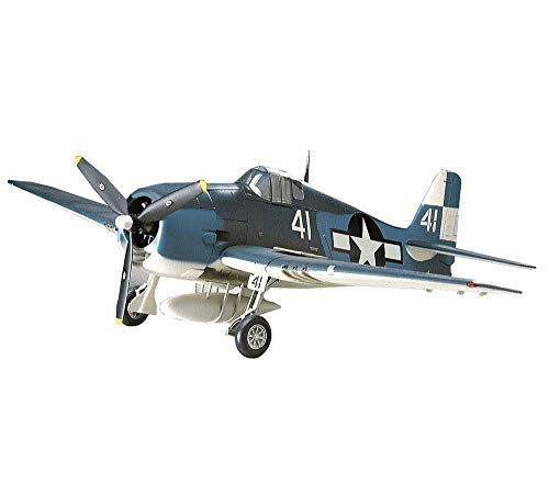 Heinside Gift Military Plastic Model Kits, 1/48 USA Grumman F6F Hellcat Fighter Puzzle Modell, Adult Toys and Collectibles Astonishing