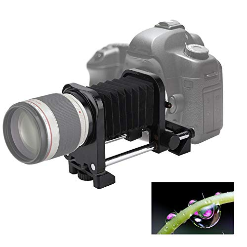 VBESTLIFE Tubo Soffietto Estensione Macro per Fotocamere Nikon Sony EOS DSLR Obiettivo a Soffietto Macro(Nikon)
