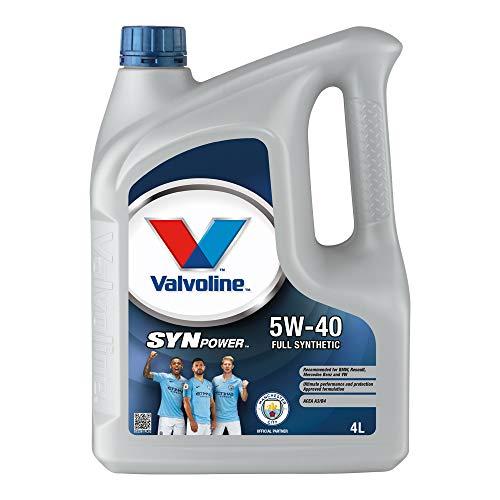 Aceite de motor Valvoline SynPower 5W-40, 4 l